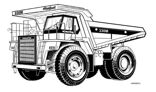 Torque Converter Clip Art : Komatsu m dump truck service shop repair manual s n
