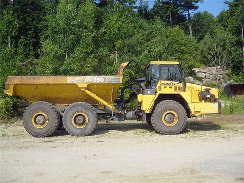 Komatsu Hm350 1 Articulated Dump Truck Field Assembly