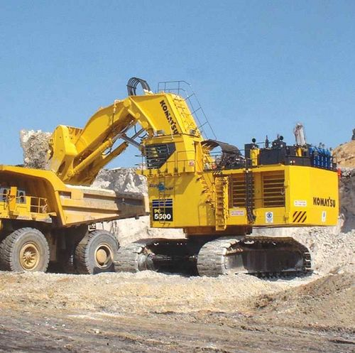 KOMATSU    PC5500      6       HYDRAULIC    SHOVEL    ELECTRICAL         HYDRAULIC