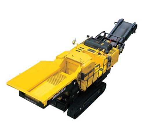 komatsu br380jg 1 mobile crusher service and repair manual