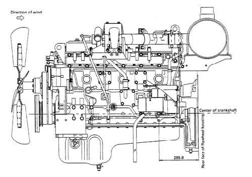 komatsu 108 2 series diesel engine service repair manual. Black Bedroom Furniture Sets. Home Design Ideas