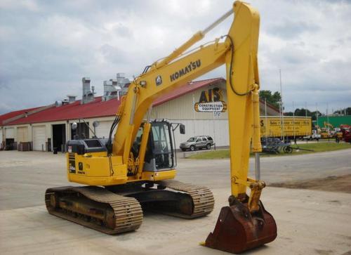 komatsu pc308uslc 3 hydraulic excavator service shop repair manual rh tradebit com Volvo Mini Excavator Volvo Mini Excavator