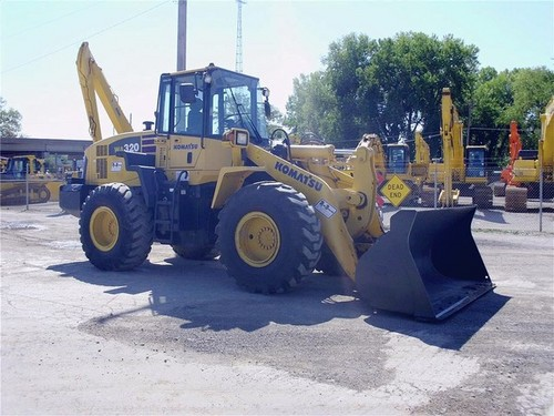 komatsu wa320 5 wheel loader service repair workshop. Black Bedroom Furniture Sets. Home Design Ideas