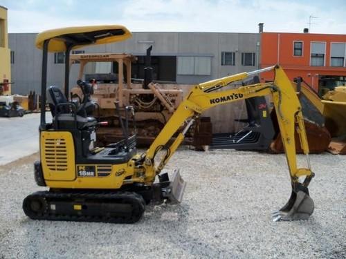 komatsu pc18mr 3 hydraulic excavator service shop repair. Black Bedroom Furniture Sets. Home Design Ideas