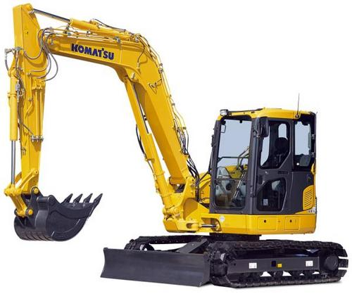 komatsu pc88mr 8 hydraulic excavator service shop repair. Black Bedroom Furniture Sets. Home Design Ideas