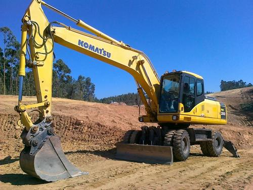 Pay for KOMATSU PW200-7KA, PW220-7KA WHEELED EXCAVATOR OPERATION & MAINTENANCE MANUAL