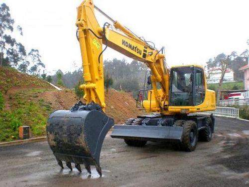 komatsu pw170es 6k hydraulic excavator service shop repair. Black Bedroom Furniture Sets. Home Design Ideas