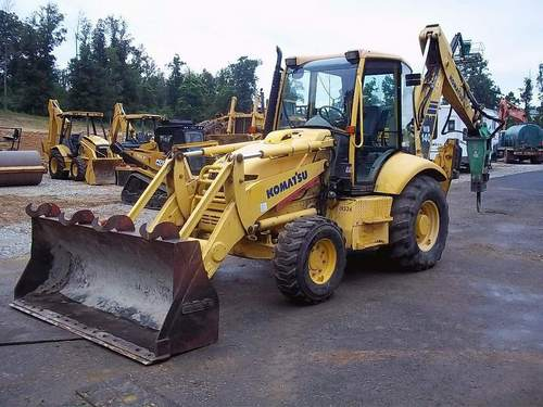 komatsu wb140 2 wb150 2 backhoe loader service shop. Black Bedroom Furniture Sets. Home Design Ideas