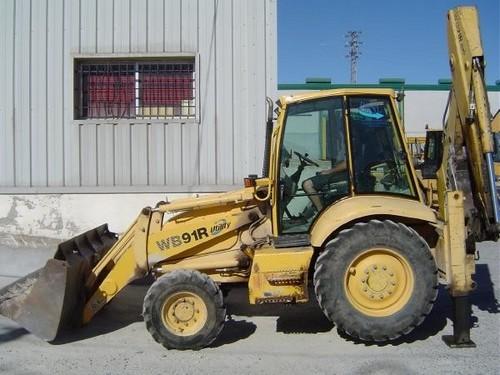 komatsu wb91r 2 wb93r 2 backhoe loader operation maintenance man rh tradebit com komatsu wb93r-5 manual