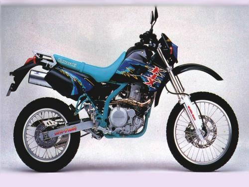 1993 kawasaki klx650, klx650r motorcycle service repair manual down