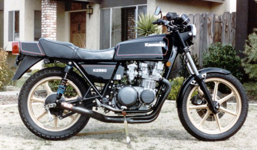 Kawasaki Kz500  Kz550  Zx550 Motorcycle Service Repair