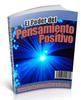 Thumbnail El Poder Del Pensamiento Positivo -Español-PLR
