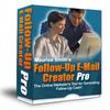 Thumbnail Followup Email Creator Pro software