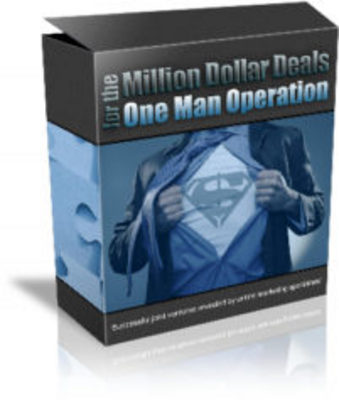 Pay for Million Dollar Deals One Man Operation