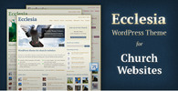 Thumbnail Ecclesia - WordPress Theme for Church Websites