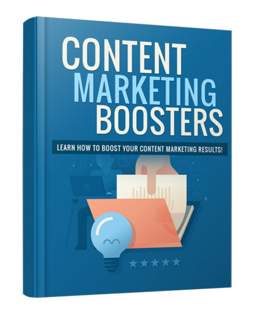 Pay for Content Marketing Boosters