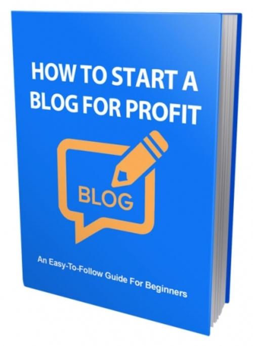 Pay for Start Blog For Profit