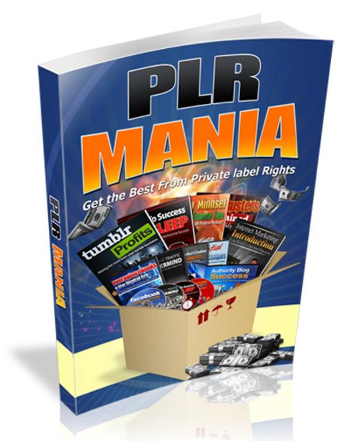Pay for PLR Mania 2018