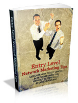 Pay for Entry Level Network Marketing Tips with mrr