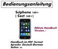 Thumbnail Bedienungsanleitung Sciphone / Cect 168+ Deutsch NEU