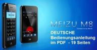 Thumbnail DEUTSCHE Bedienungsanleitung Handbuch f. Handy Meizu M8 (SE)