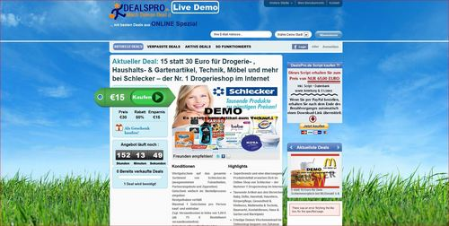 Pay for Groupon & DailyDeal - Coupon Script    NEW EDITION 2012