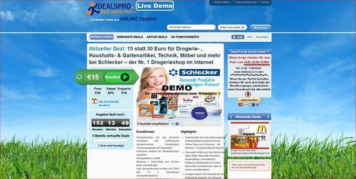 Pay for GROUPON & DAILYDEAL  Coupon - Gutschein - Script - DEUTSCH