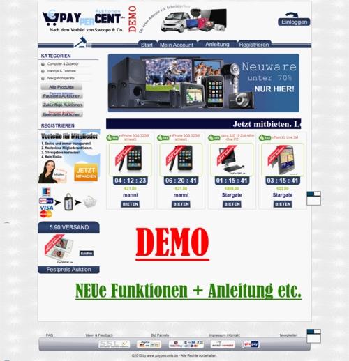 Pay for ***ANGEBOT*** PayPerBID Auktionshaus - Swoopo & Co. DEUTSCH/GERMAN ***NEUHEIT***