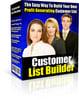 Thumbnail Customer List Builder Including MRR