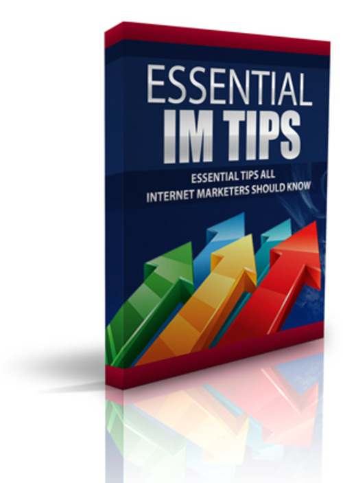 Pay for ESSENTIAL IM TIPS with PLR