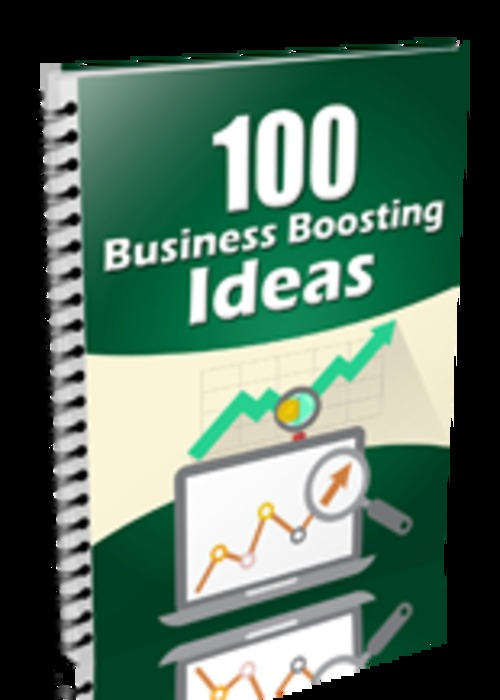 Pay for 100 Business Boosting Ideas! Including MRR!