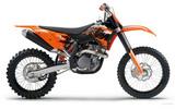 Thumbnail KTM 450-505 SXF Motorcycle Service & Repair Manual 2007