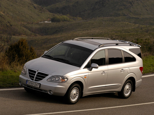 Pay for 2004-2012 SsangYong Rodius (aka Stavic) Workshop Repair Service Manual