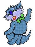 Thumbnail Dancing Cat Embroidery Design