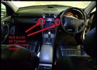 Thumbnail Common clicking noise on various Mercedes W203 footwell/dash