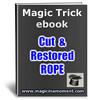 Thumbnail Cut& Restored Rope - Brandable Magic Trick e-book