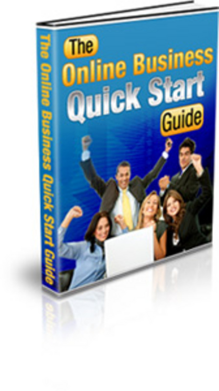 Pay for The Online Business Quick Start Guide