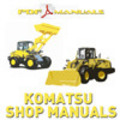 Thumbnail Komatsu WA600 -1 Wheel Loader - Shop - Service Manual WA 600
