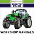 Thumbnail DEUTZ FAHR -TCD 2012-2V Engine. Complete Service / Workshop Manual. TCD2012 2V