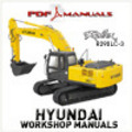 Thumbnail Hyundai Robex R290LC-3 Crawler Excavator Full Workshop / Service manual. Robex 290 LC 3