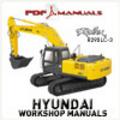 Thumbnail Hyundai Robex R290LC-3 Crawler Excavator Full Workshop / Service manual. Robex 290 LC 3
