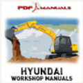 Thumbnail Hyundai Robex R110-7 Crawler Excavator Full Workshop / Service Manual R110 7