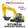 Thumbnail Hyundai Robex R290LC-7 Crawler Excavator Full Workshop / Service manual. Robex 290 LC -7