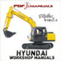 Thumbnail Hyundai Robex R130LC-3 Crawler Excavator Full Workshop / Service Manual 130 LC 3
