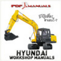 Thumbnail Hyundai Robex R140LC-7 Crawler Excavator Full Service / Workshop Manual R140 LC 7