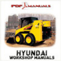 Thumbnail Hyundai Industrial HSL810 Skid Steer Loader Service / Workshop Manual. HSL 810
