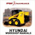 Thumbnail Hyundai Industrial HSL810 Skid Steer Loader Service / Workshop Manual. HSL 810