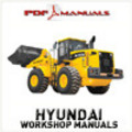 Thumbnail Hyundai HL770-7A Wheel Loader - Complete Service / Workshop manual. HL 770 7 A