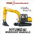 Thumbnail Hyundai Robex R140LC-7A Crawler Excavator Full Service / Workshop Manual. R 140 LC 7 A