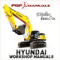 Thumbnail Hyundai Robex R800LC-7A Crawler Excavator Extensive Service / Workshop Manual. R 800 LC 7 A